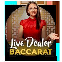Baccarat s live krupiérom