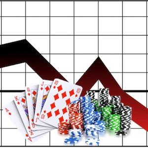 Pokles na českom trhu s hazardnými  hrami